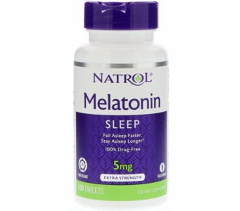 Natrol Melatonin Extra-Strength (Time Release) - 5mg 100ct