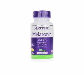 Natrol Melatonin Maximum-Strength (Instant Release) - 10mg 60ct