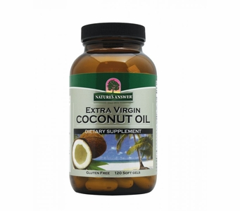 Nature's Answer Extra Virgin Coconut Oil - 4000mg 120 Softgels