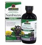 Nature's Answer Sambucus Immune - Black Elderberry infused with Echinacea & Astralagus - 120ml