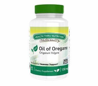 Oil of Oregano 150mg (360 Mini-Softgels) as Origanum Vulgare (NON GMO)