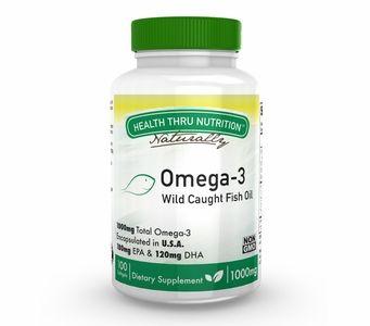 Omega-3 - 1,000 mg Fish Oil - (100 Softgels)