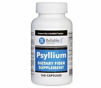 Psyllium Dietary Fiber Supplement 160 Capsules Reliable 1