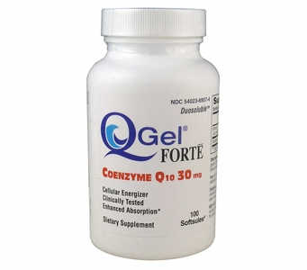 Q-Gel Forte (30mg / 100 soft gels)