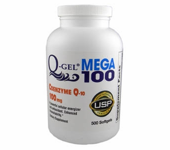 Q-Gel Mega 100 (100mg / 500 Softgels)