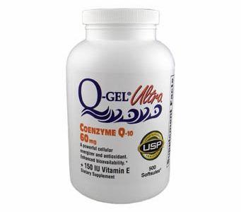 Q-Gel Ultra (60mg / 500 Softgels)