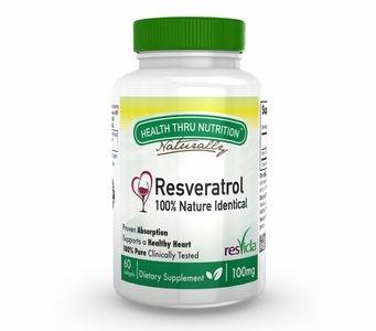 ResVida 100mg Resveratrol  (60 Softgels)