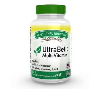 Ultra-Betic Multi-Vitamin and Mineral Formula (60 Caplets) (Sugar Free)