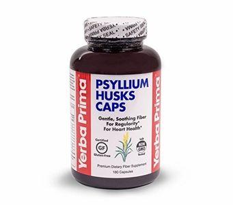 Yerba Psyllium Husk Capsules (180ct)