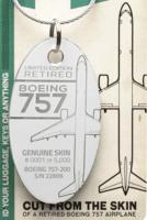 Delta 757-200 Plane Tags