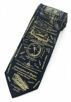 Principles of Flight Silk Tie