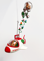 Moustronauts Holiday Space Ornament
