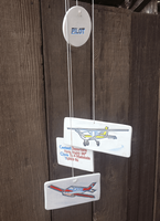 Airplane Wind Chimes