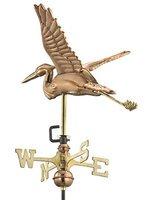 Blue Heron Weathervane, Garden Size