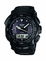 Casio's Analog Triple Sensor Watch - Stealth Black