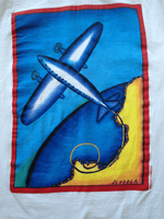 Women's Airplane T-Shirt
