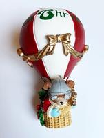 Aviator Bear Ornament