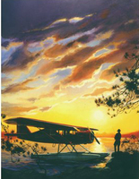 Bellanca CH 300 Pacemaker Aviation Art Print