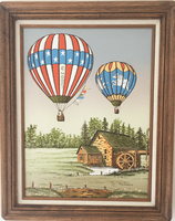 Hot Air Balloon Painting
