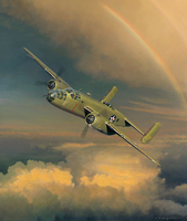 B-25 Doolittle's Raiders Signed Aviation Art Print