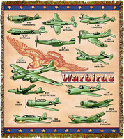 WW II Airplanes Throw/Blanket