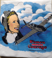 Women's WASP Airplane T-Shirt | <font color=red>Sorry sold out now</font>