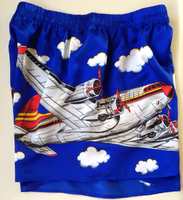 Silk Airplane Boxer Shorts