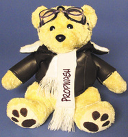 Plush Pilot Teddy Bear