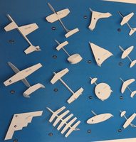 Whitewings Paper Airplane kit | Future of Flight Series