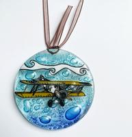 Sopwith Camel Biplane Ornament