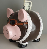 Pilot Piggy Bank | Closeout Special