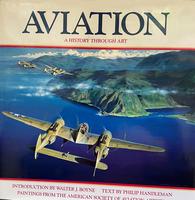 Aviation History Through Art Book