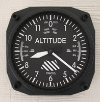 Altimeter Airplane Clock