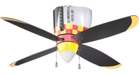 P-51 Mustang Ceiling Fan | <font color=red>Sorry Sold Out | Discontinued</font>