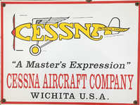 Cessna Aircraft Sign | Second