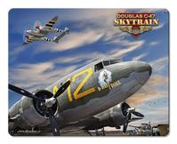 C-47 Skytrain Sign