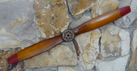 Decorative Propeller - French Antique Brown | Medium Size