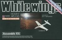 Whitewings Paper Airplane Kit | Jet Fighters