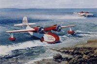 Grumman Goose Airplane Print