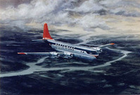B-377 Stratocruiser Airplane Print