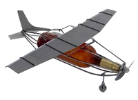 Airplane Wine Bottle Holder - Cessna Style