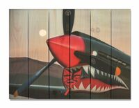 Tiger Shark Indoor Outdoor Art - Large