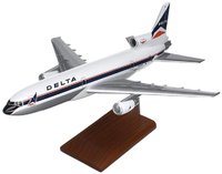 Delta Airlines L-1011 Tristar Model Airplane