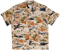 Vietnam Aircraft & Huey Helicopter Hawaiian Shirt