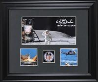 Astronaut Charles Duke Autographed Wall Art