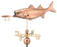 Bass Weathervane Garden Size