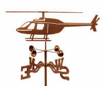 Helicopter Weather Vane