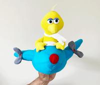 Big Bird Airplane Plush Puppet Toy