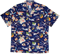 Seaplanes Hawaiian Islands Shirt