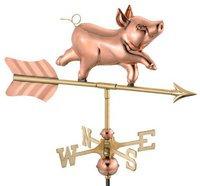 Pig Weathervane, Garden Size